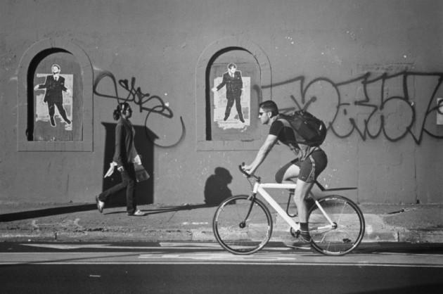 Biking Past 1
