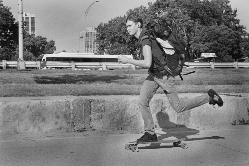 Skateboard Commuter